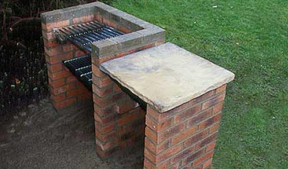Печь мангал своими руками на даче фото