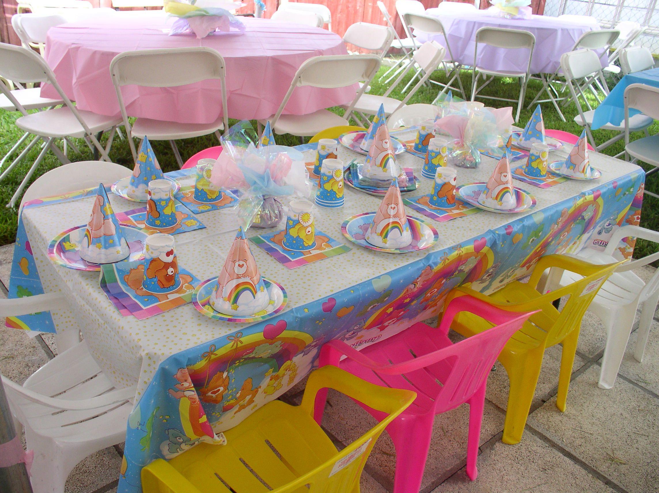 Backyard Birthday Party Decorations Photo U2013 6