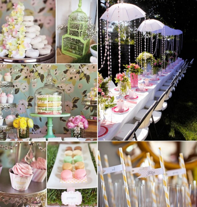 Backyard birthday party decorations photo design