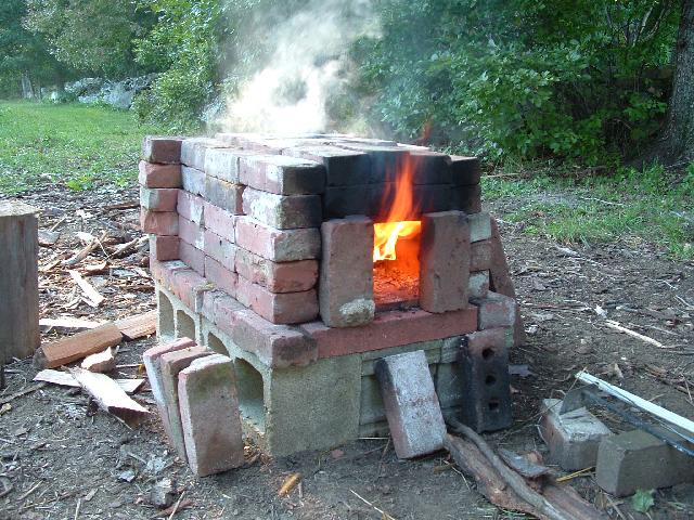 Backyard brick oven kit