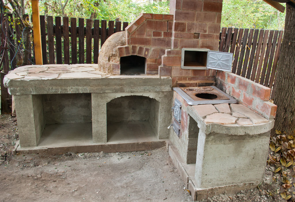 Building A Brick Outdoor Kitchen Trendyexaminer