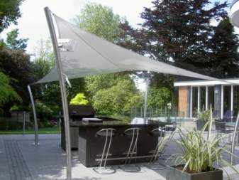 Backyard shade options Backyard canopy & Backyard shade canopy - large and beautiful photos. Photo to ...