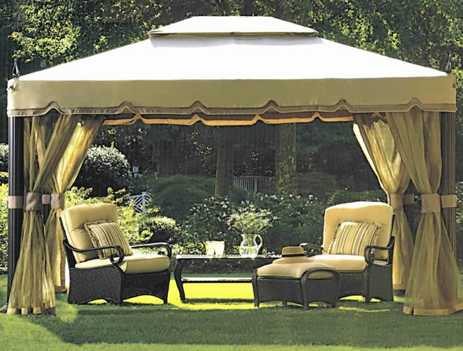 Backyard canopy ideas