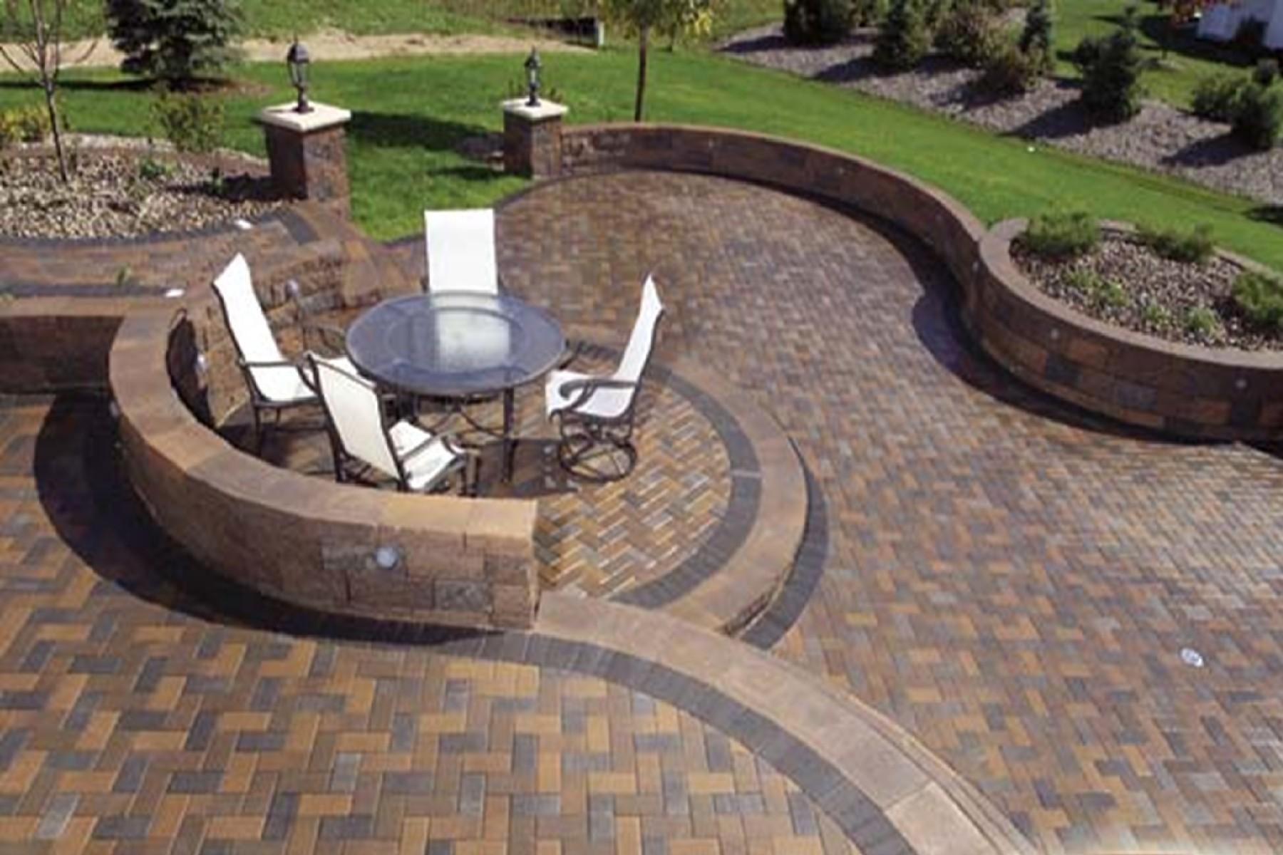 Backyard cement ideas