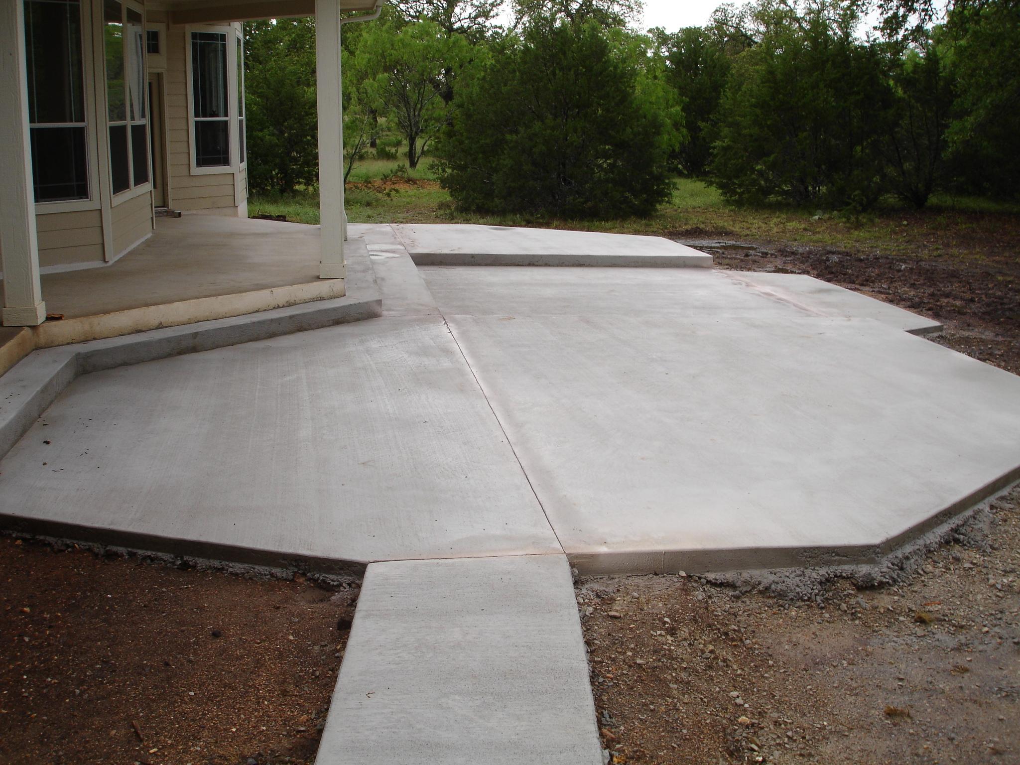 backyard concrete designs photo 4 design your home
