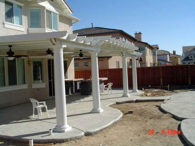 Backyard Concrete Patio Ideas Photo   3