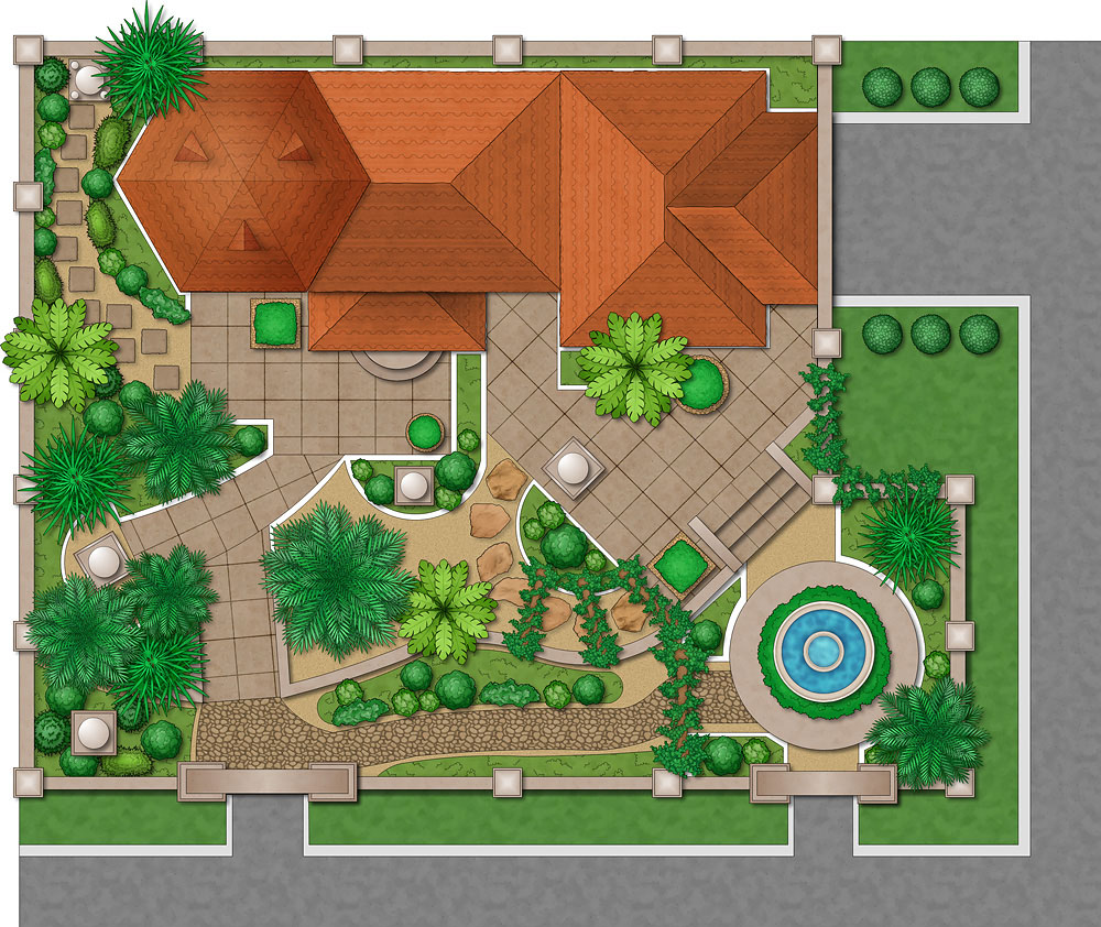 Backyard design program