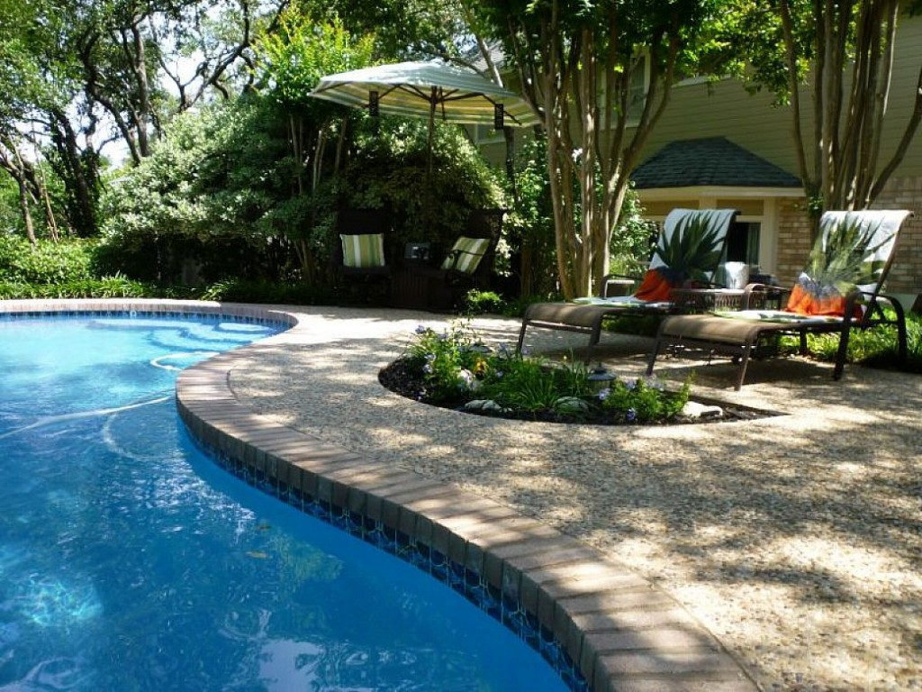 Backyard Pool And Patio Backyard Design With Pool