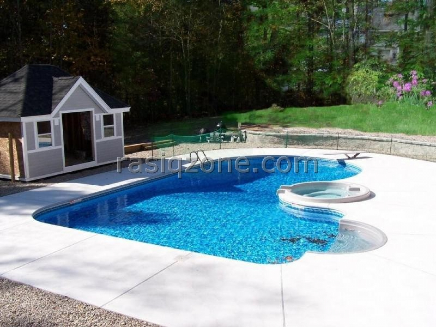 Backyard ideas with pools large and beautiful photos for In ground pool backyard ideas