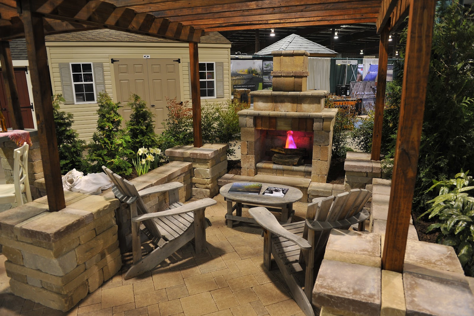 Backyard entertainment ideas photo 3 design your home for Small patio design plans