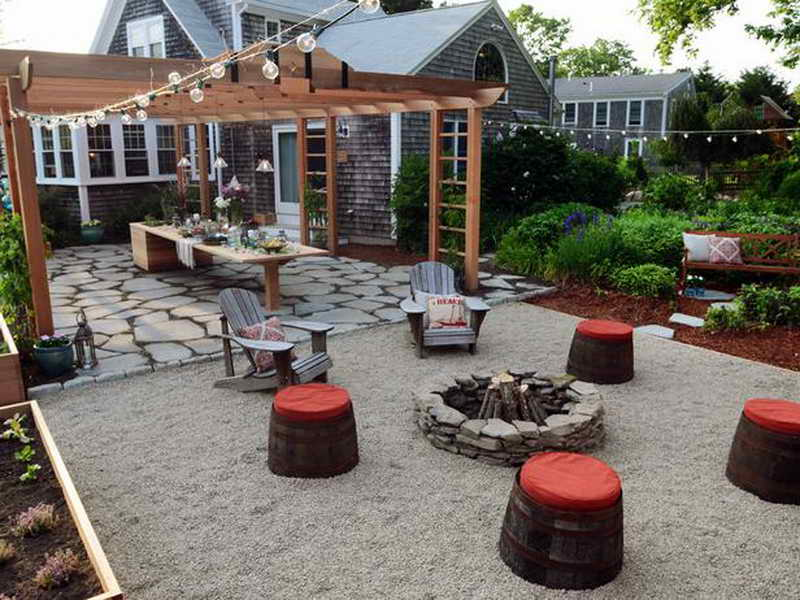 Backyard entertainment ideas photo 4 design your home for Cool back garden designs