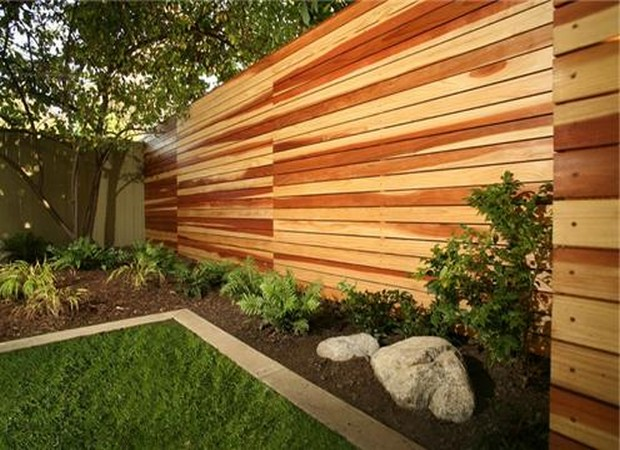 House Backyard Fence : Backyard fence ideas pictures Photo ? 5