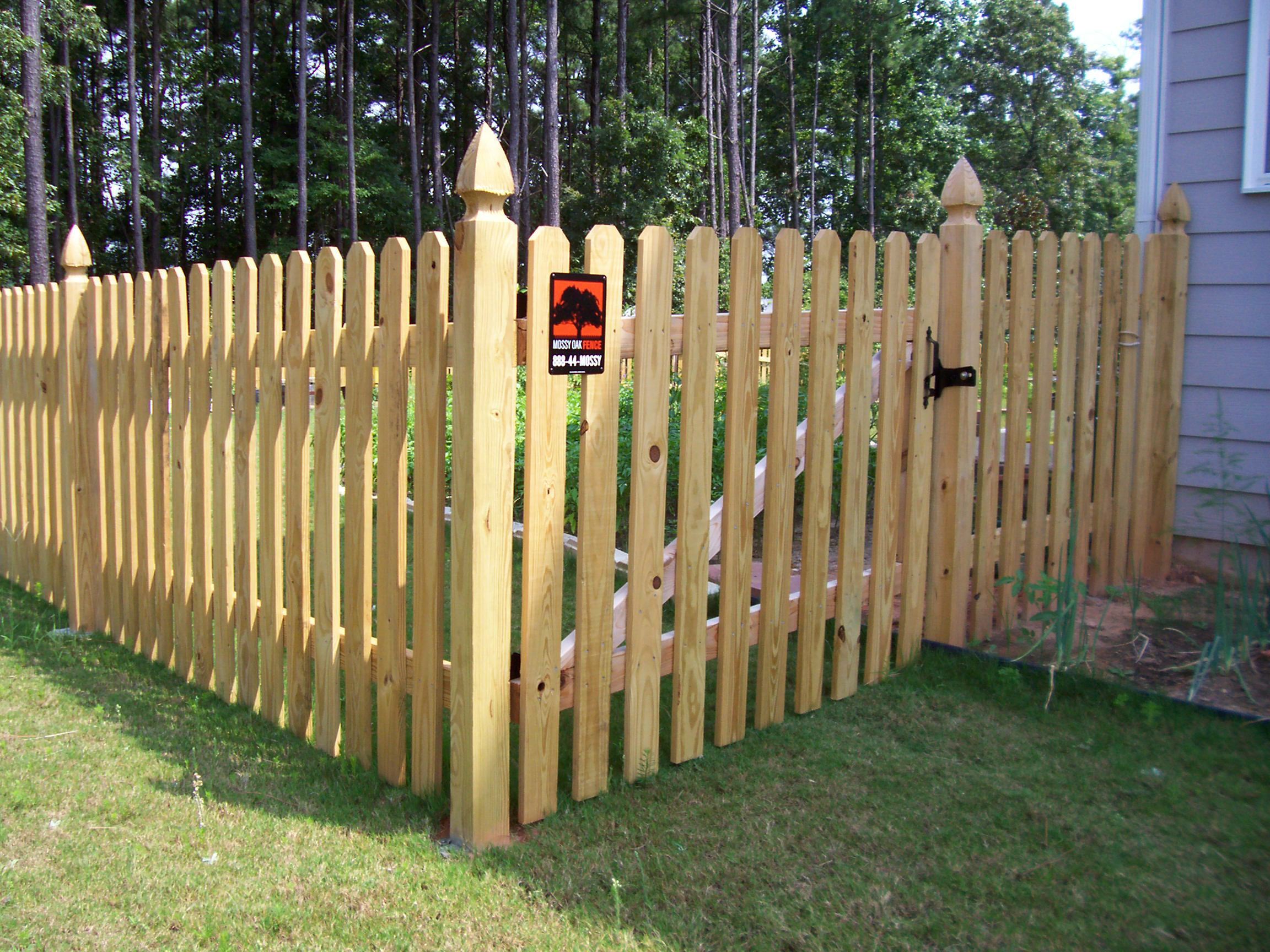 Backyard Fence Styles Photo 3 Design Your Home