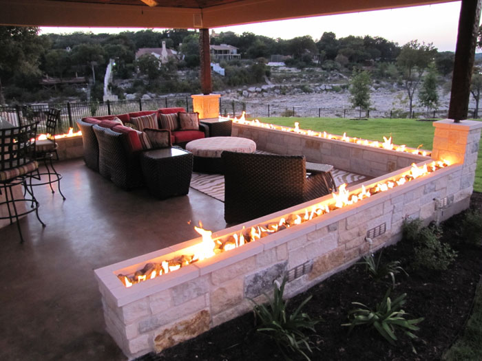 Backyard fire pit design large and beautiful photos Photo to