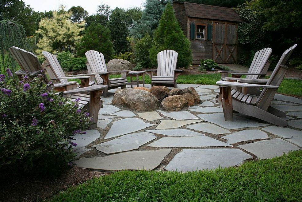 Backyard Fire Pit Area Photo 3 Design Your Home