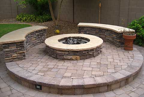 backyard gas fire pit backyard fire pit diy
