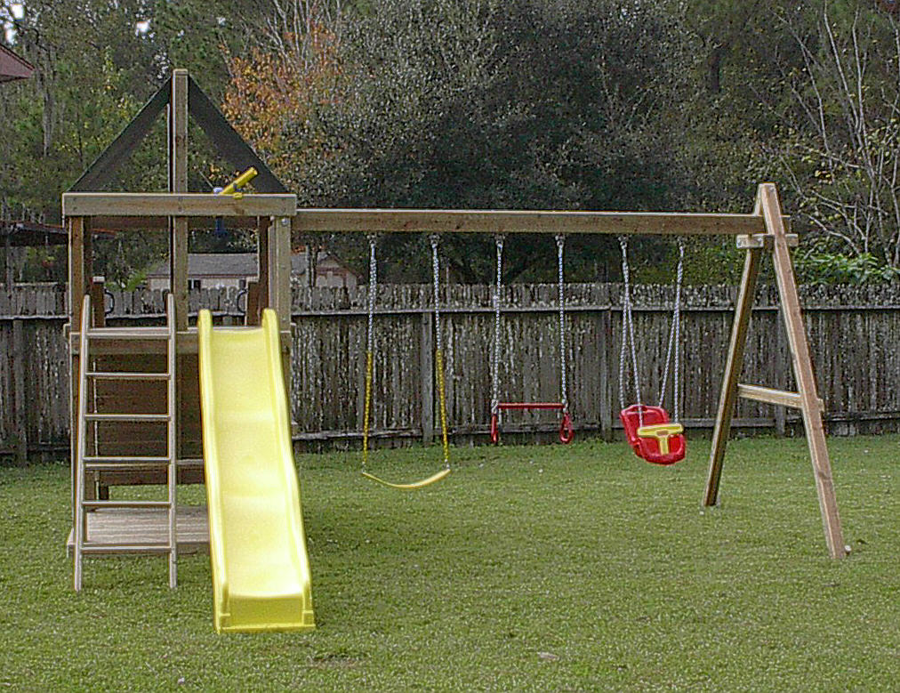 Backyard for kids