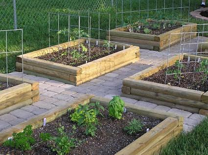 Backyard garden design plans