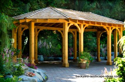 Backyard gazebo designs