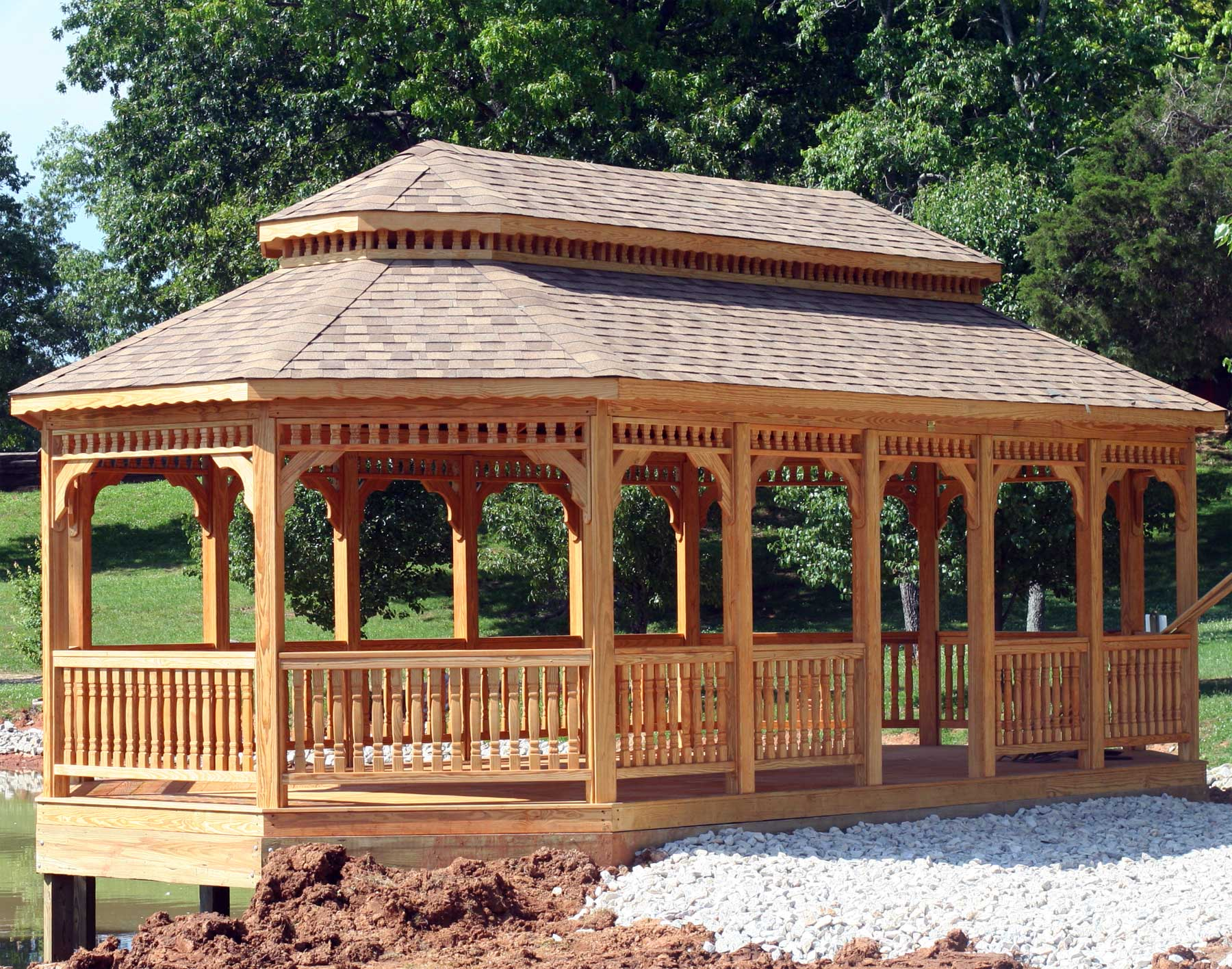 Backyard Gazebo Designs Photo U2013 6