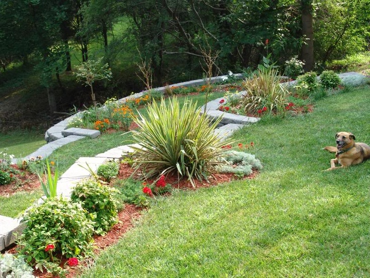 Backyard Hill Landscaping Ideas Photo Design Your Home - Backyard hill landscaping ideas