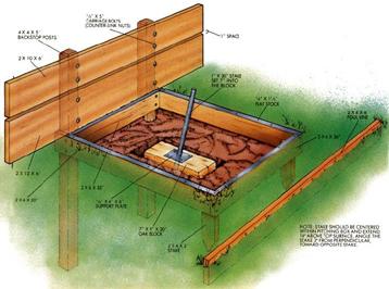 Backyard horseshoe pits Photo - 4 | Design your home