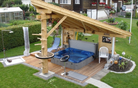 plain backyard ideas with hot tub 11 almost inspiration article - Hot Tub Design Ideas
