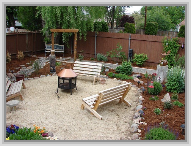 Backyard ideas on a budget patios photo 5 design your home for Yard decorating ideas on a budget