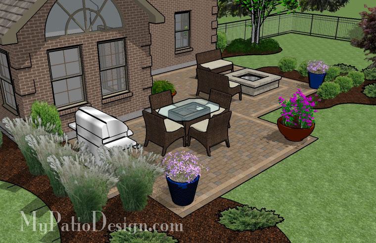 Nice small patio design ideas on a budget patio design 307 for Backyard patio design ideas