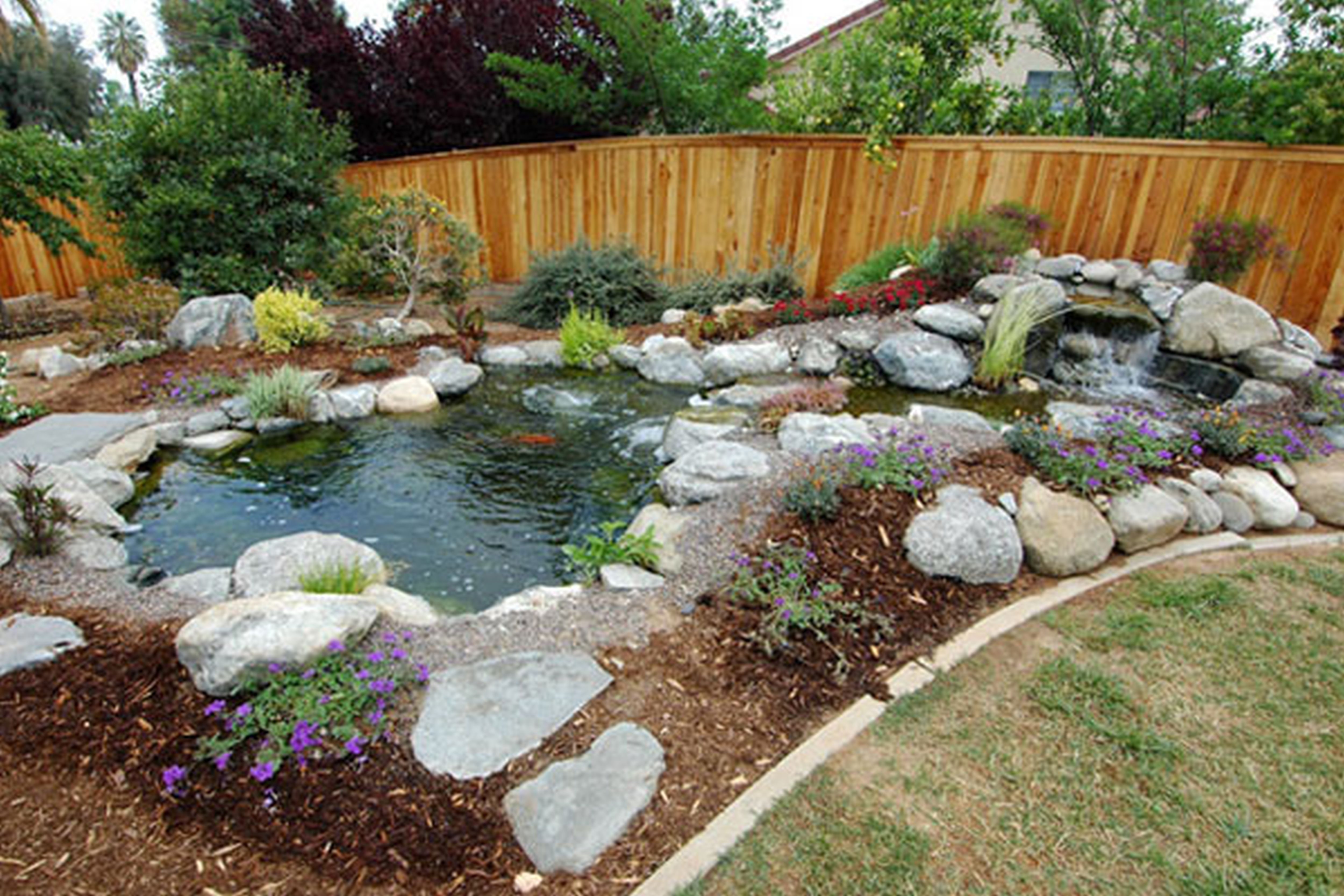 Backyard Designs With Pool Backyard Inground Pools