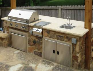 Backyard kitchen kits