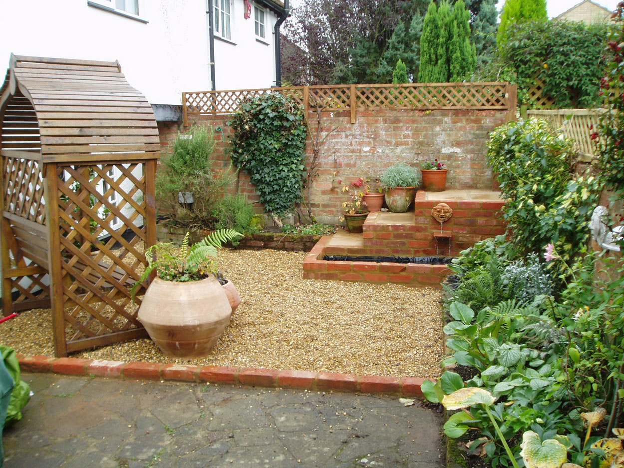 Backyard landscape ideas on a budget - large and beautiful photos ...