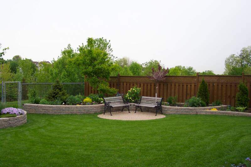 Backyard landscapes with pools