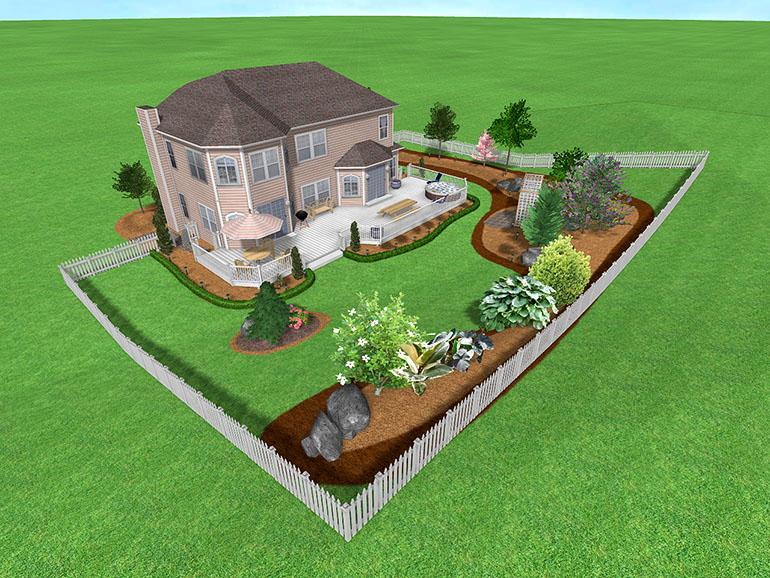 Ландшафтный дизайн для андроид