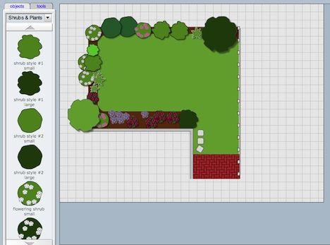 Backyard layout planner