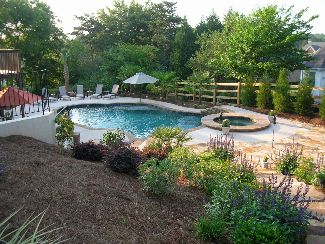 Backyard makeovers before and after