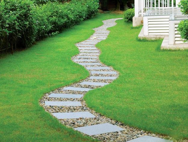Backyard Pathway Ideas Photo   3