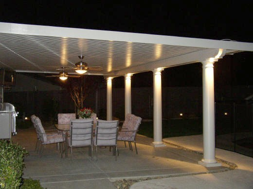 Backyard patio cover