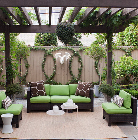 Backyard covered patio ideas - large and beautiful photos. Photo to ...