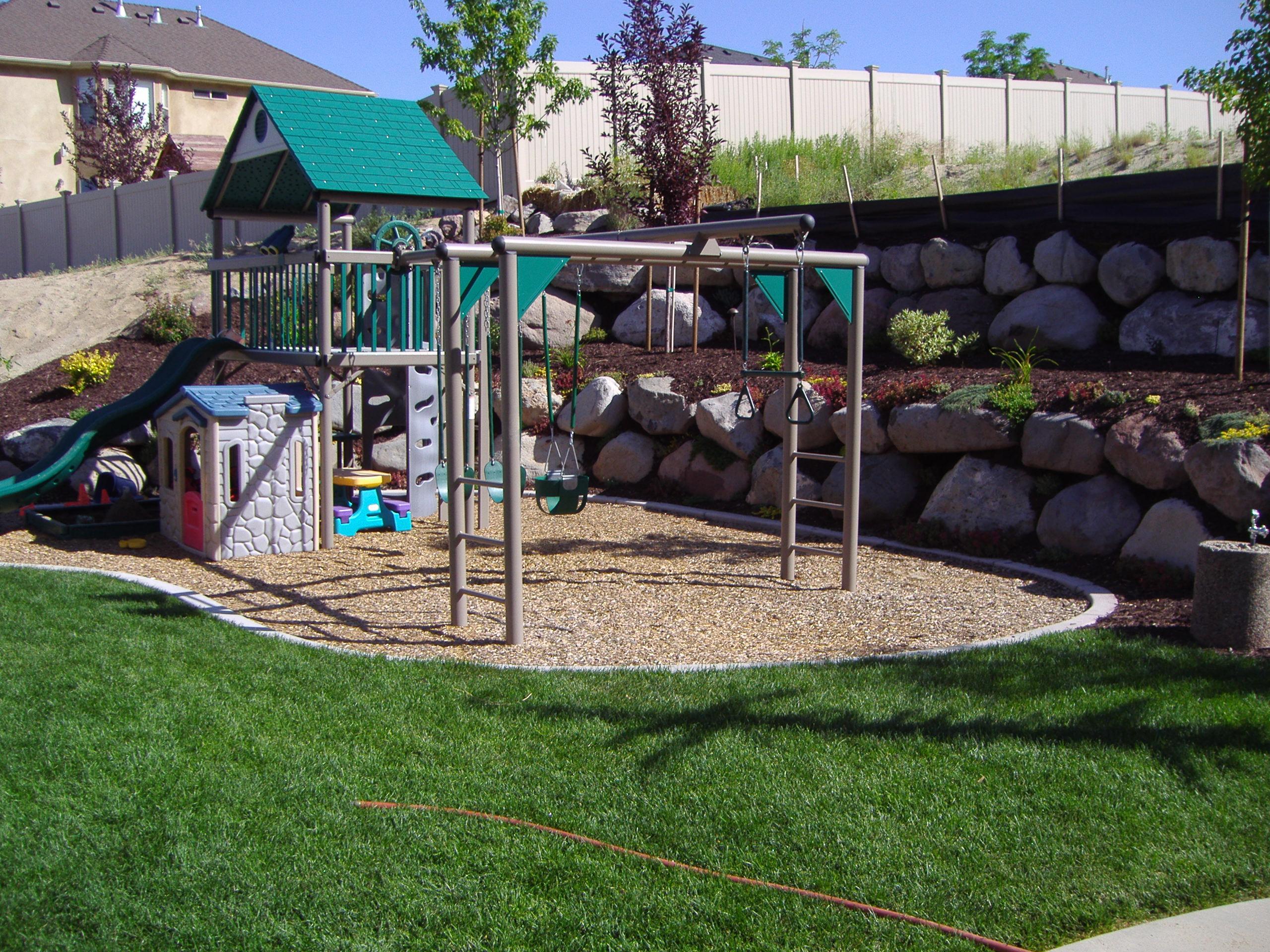 Backyard play area Photo - 1