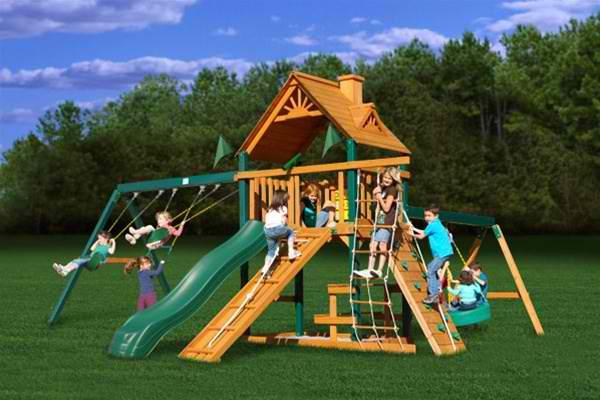 Backyard playground ideas Photo - 1