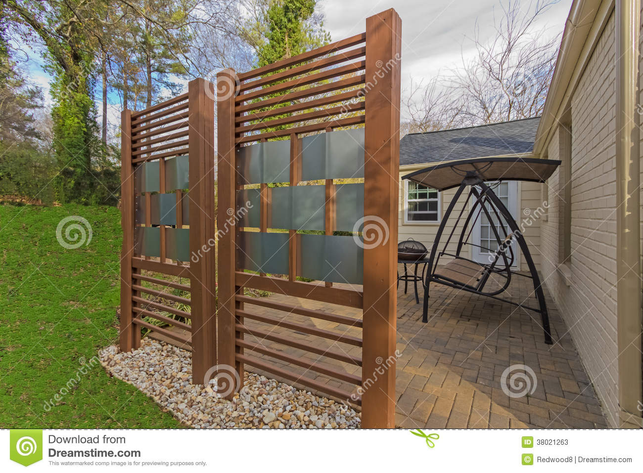 Backyard Privacy Fences Photo U2013 4