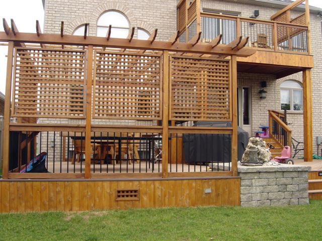 We Offer To Your Attention Backyard Privacy Screens Photo U2013 3. If You  Decide To Decorate The House Or Yard And Do Not Know What To Do With It!