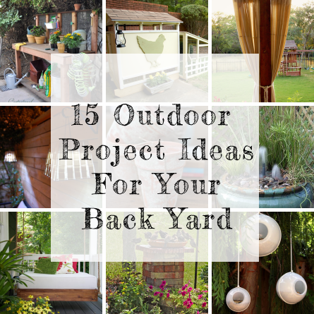 Backyard projects Photo - 1