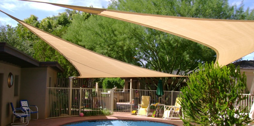 Backyard shade canopies Photo - 1