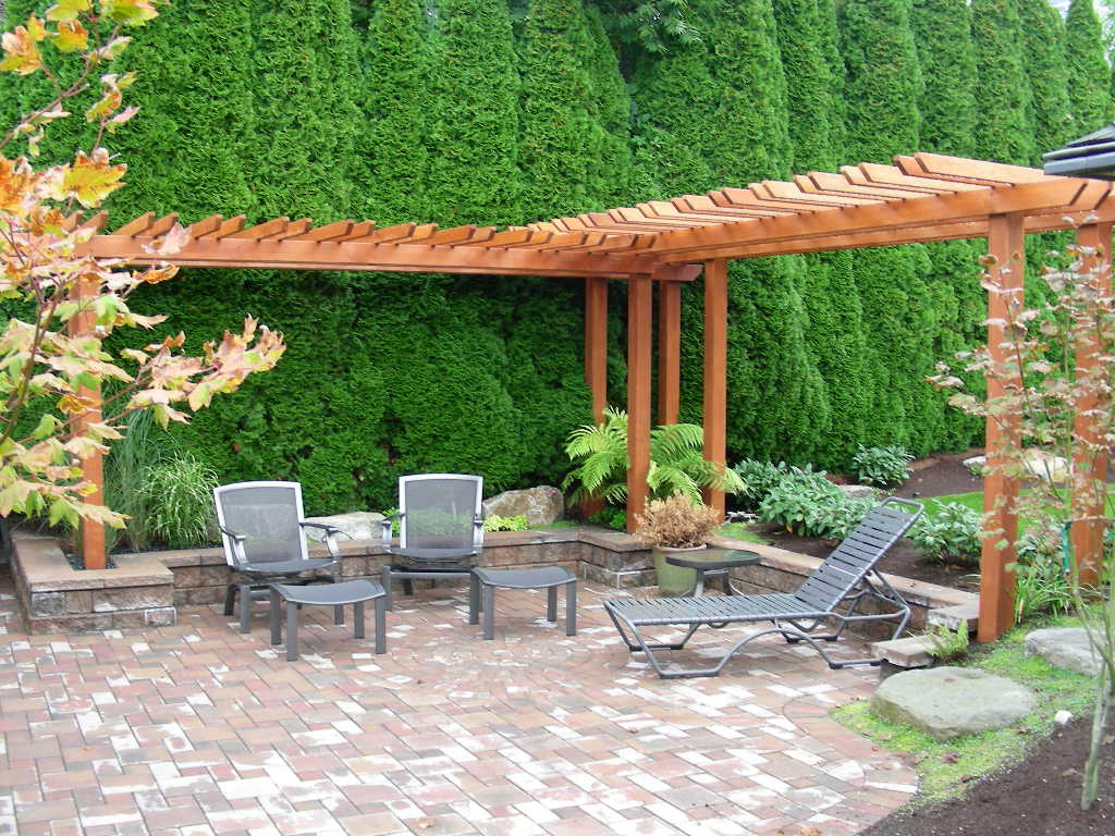 Backyard slope landscaping ideas Photo - 1