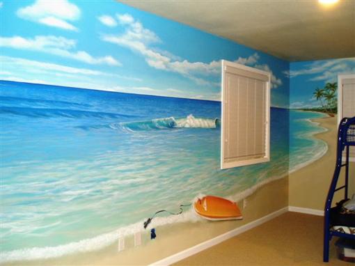 Beach decor bedroom Photo - 1