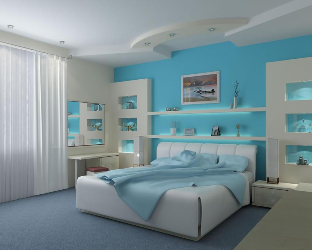 Beach style bedrooms Photo - 1
