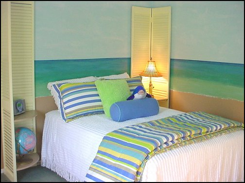 Beach theme bedroom decorating ideas Photo - 1