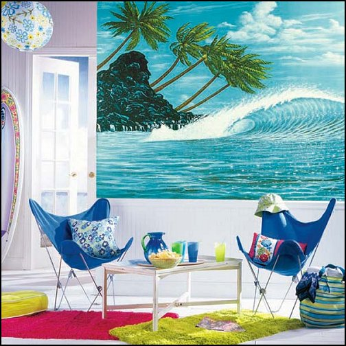 Beach themed bedrooms Photo - 1